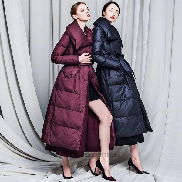 купить Пальто-пуховик удлиненное Royal Cat с шерстяной подкладкой