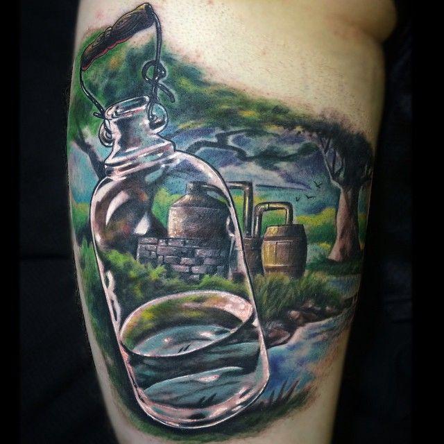 moonshine liquor tattoo - photo #48