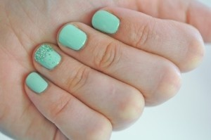 Mermaid nailsMint Green, Candies Apples, Accent Nails, Mint Nails, Rings Fingers, Glitter Nails, Sparkle Nails, Mermaid Nails, Nails Polish