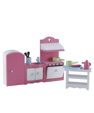Rosebud House Kitchen Set