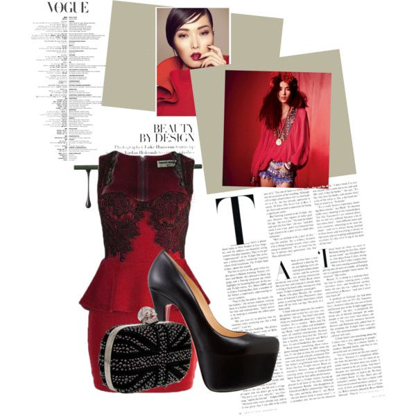 """Lady in the red dress"" by karyserjaneosiohx on Polyvore"