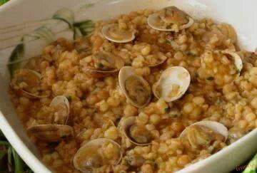 Sardegna un Mare di Gusto: FREGOLA SARDA CON ARSELLE...Ottimo piatto unico de...