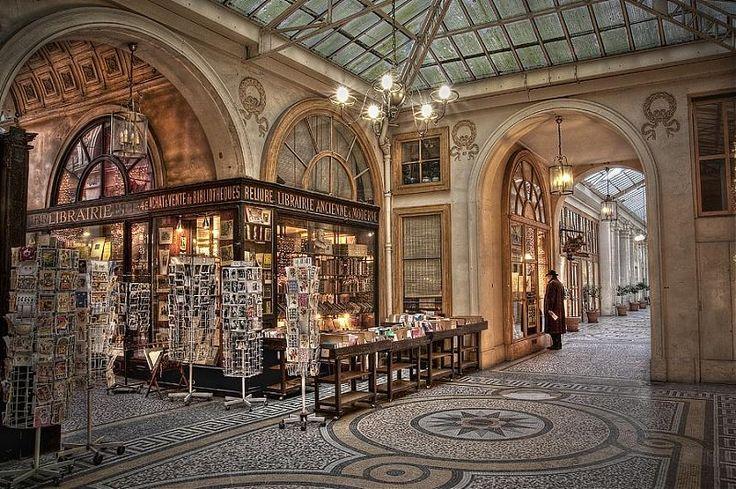 Visite des passages couverts Paris