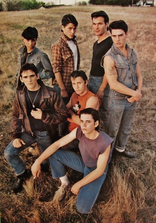 The Outsiders. This book was a lot better than I thought it would be. I also liked the movie.