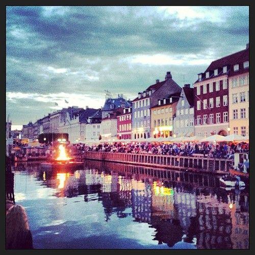 Sankt Hans at Nyhavn