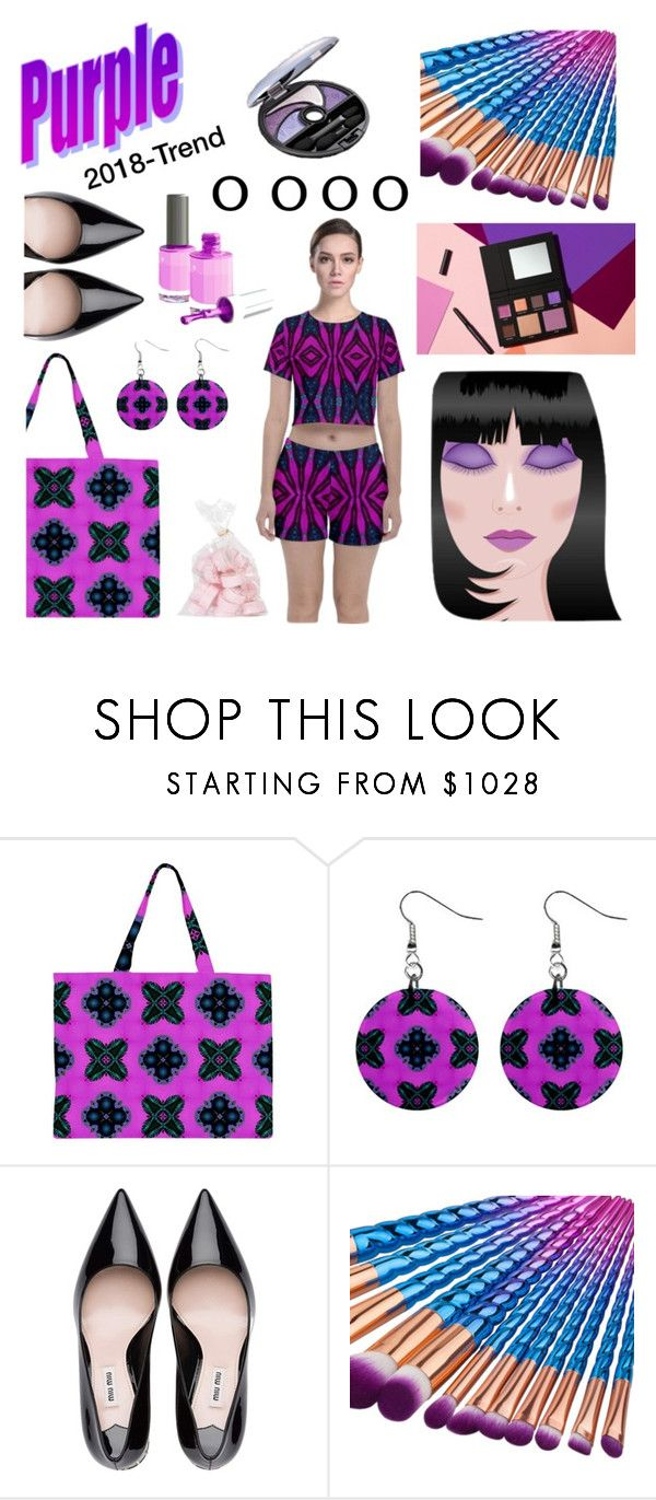 """""""Purple the color of 2018"""" by annabellerockz ❤ liked on Polyvore"""