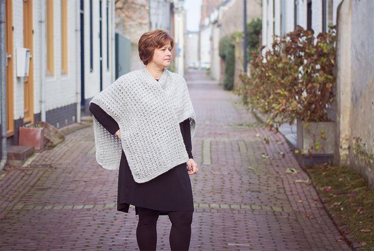 Garzato Fleece Wrap - Free Crochet Pattern