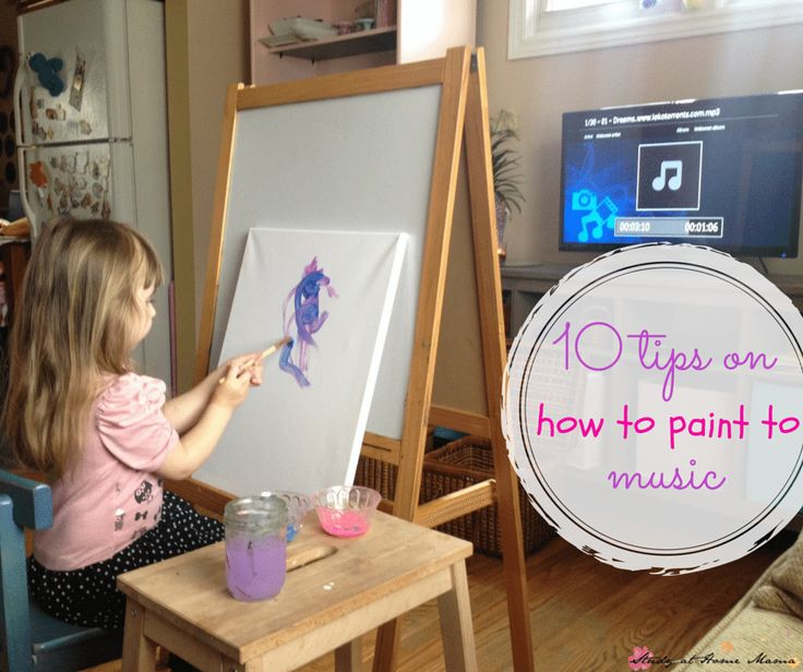 Painting to music