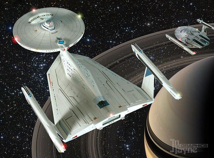 Model of a not used concept from the first Star Trek movie.