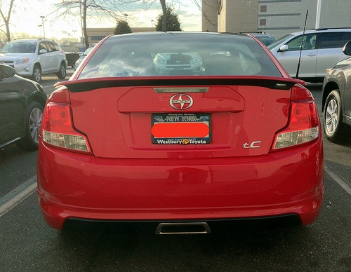 My New 2013 Scion tC RS 8.0: Rear - http://thebestcars2012.com/2013-scion-tc/2013/05/16/my-new-2013-scion-tc-rs-8-0-rear/
