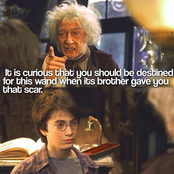 Garrickollivander Harrypotter Johnhurt Danielradcliffe Harry Potter And The Philosopher Stone Harry Garrick Ollivander Daniel Radcliffe Philosophers Stone