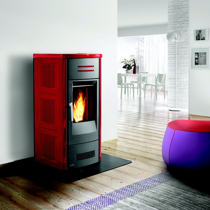 Our pellet fireplaces are not only an easy fix to for Eco friendly fireplace