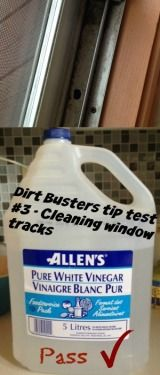 Dirt Busters tip test #3 - Cleaning Window Tracks - http://laceylovers.blog.ca/2015/03/31/dirt-busters-tip-test-3-cleaning-window-tracks-20215521/ #cleaning #cleaningDIY