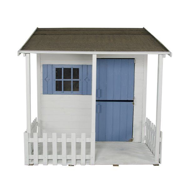 Create a home from home for your kids with this Parsley Playhouse from Bel Étage. This playhouse is perhaps the most homely and traditional of their wooden playhouse range, with an integral covered veranda along with the stable-style door and picket fence, children can enjoy a sense of independence, while still being completely safe and under your discreet, watchful eye. The playhouse has smooth planed, tongue and groove timber throughout to reduce risk of splinters. Also, the window of the…