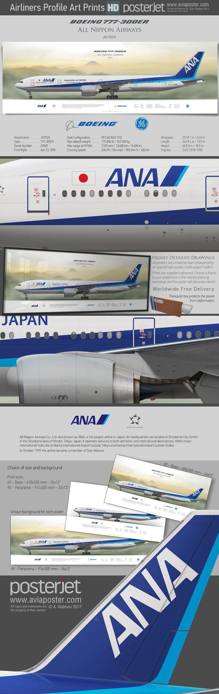 ANA Boeing 777-300ER #aviationpilotairports