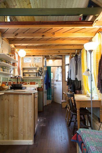 Best 25+ Tiny house 200 sq ft ideas on Pinterest | Tiny house on wheels  stairs, Tiny house on wheels and Tiny house exterior wheels