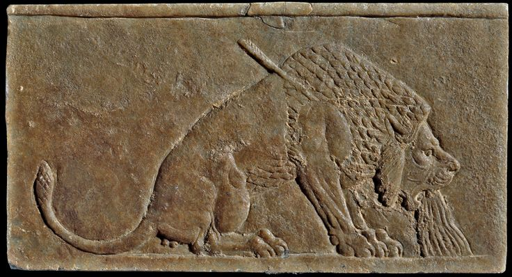 The dying lion neo assyrian ca b c from