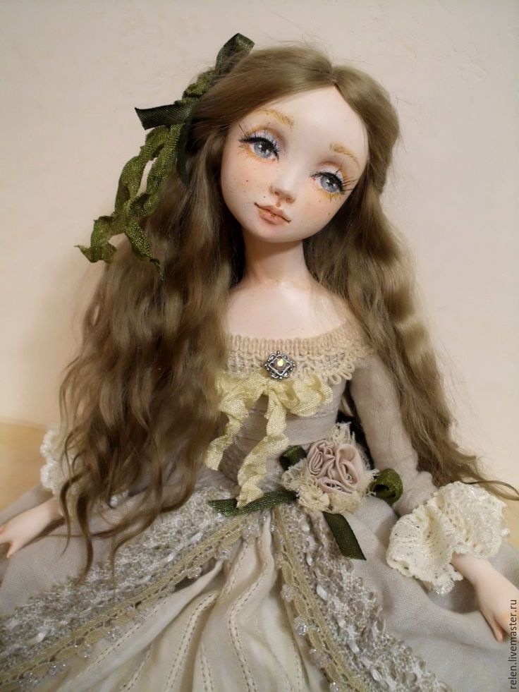 "Handmade OOAK Art Doll, ""Soffi"" - art dolls, movable doll"