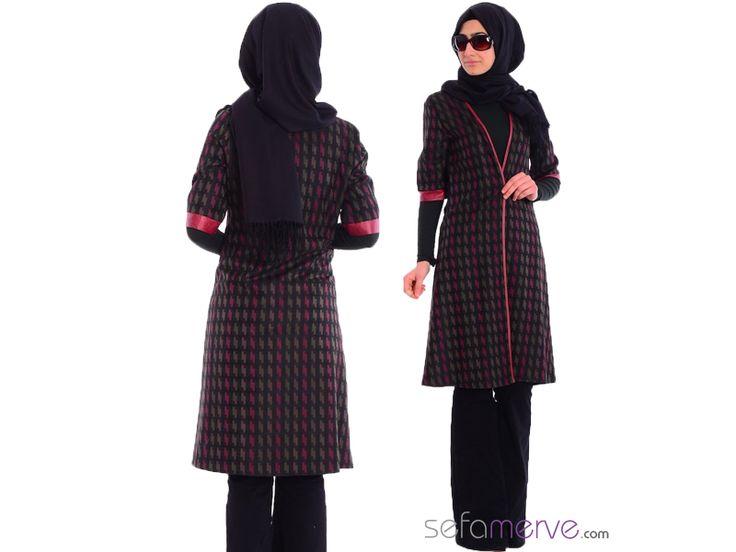 Tesettür Hırka 1174 - #sefamerve #tesetturgiyim #tesettur #hijab #tesettür