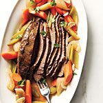 Beer-Braised Brisket Recipe | MyRecipes.com