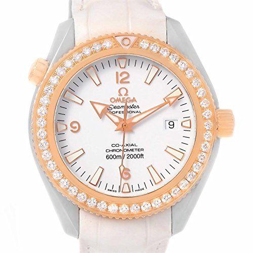 Omega Seamaster automaticselfwind womens Watch 22228422004001 Certified Preowned...