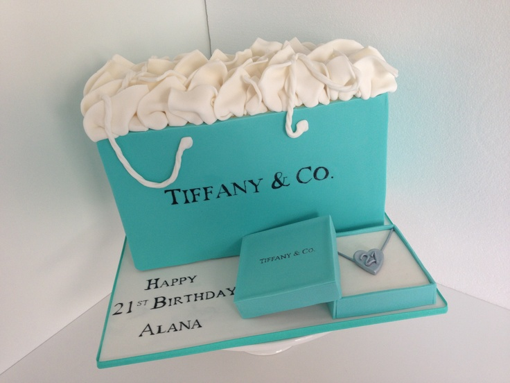 Tiffany  Co cake by Finesse Cakes Melbourne