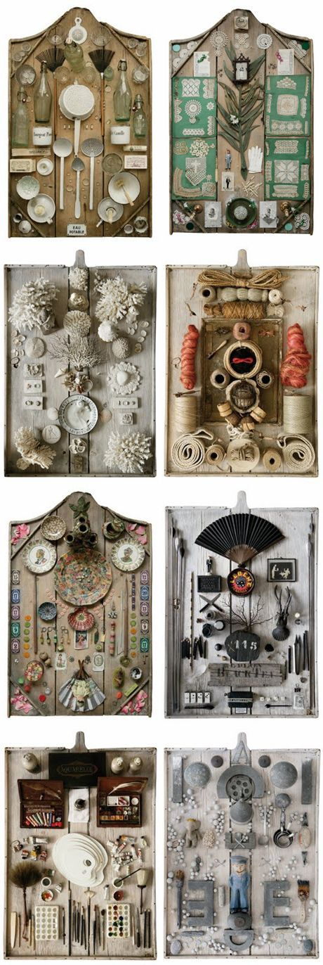 a collection of things by artist jean sonnet via my little black book