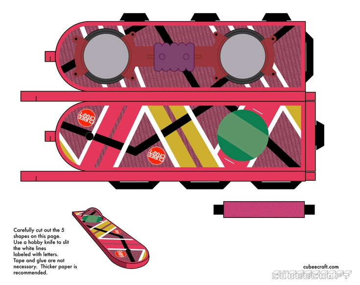 Back to the Future hoverboard craft
