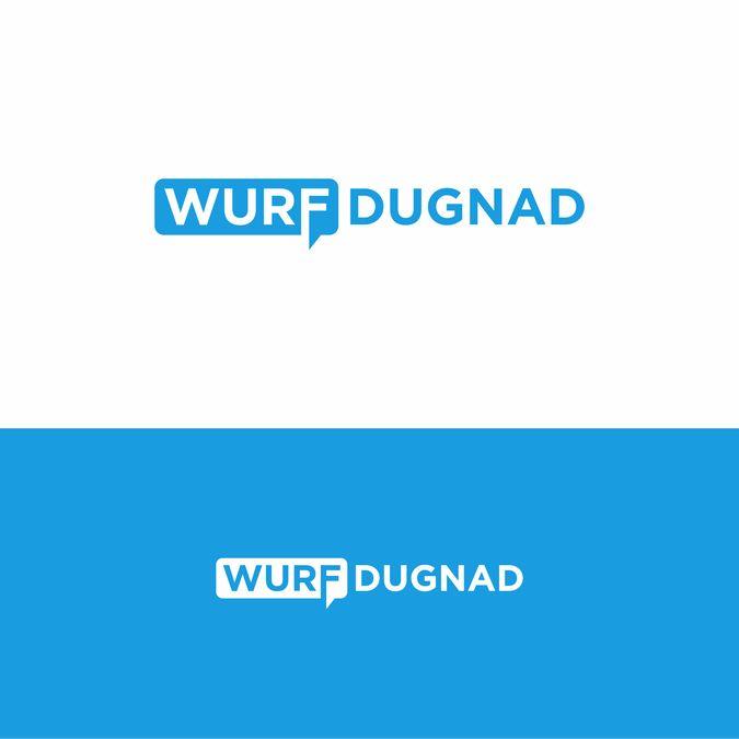 Create a stylish text logo for Wurf Dugnad by siti ulfah*