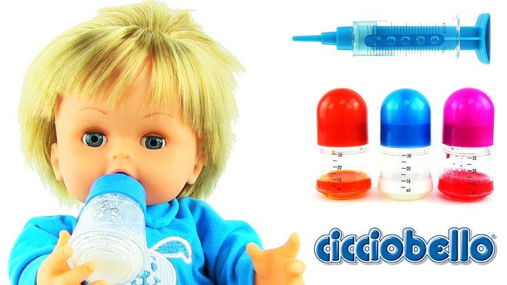 Cicciobello Çok Hastayım Oyuncak Bebek Love 'N Care Doll
