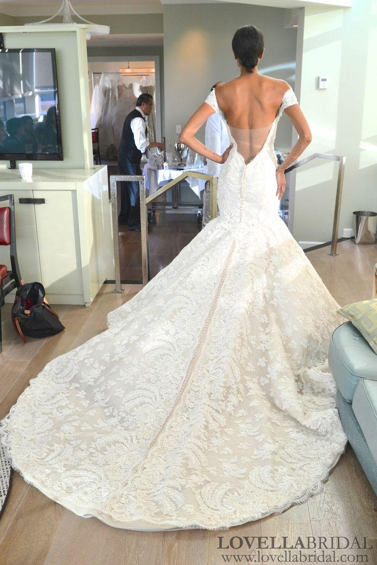 Bridal Fashion Week Fall 2013: Ines Di Santo Private Viewing, Pt. 1