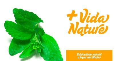 Edulcorante Natural de Base Stevia. Un sobre + Vida Nature de 1 Gr. equivale a 1 cucharadita de azúcar. De origen natural de Stevia, ha llegado para sustituir a la sacarina y el azúcar.