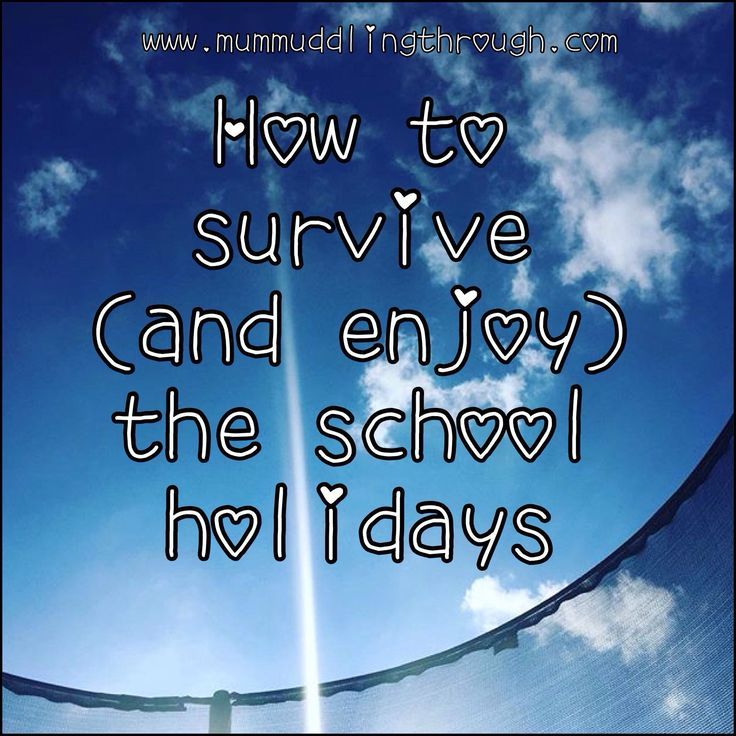 """Since embarking on the world of term time / school holidays I have had a mixed bag when it comes to enjoying the weeks off school.There's such a build up, with everyone asking """"Got much planned?"""" from about 6 weeks before, yes, the end of the last set of holidays. It seems more and more …"""