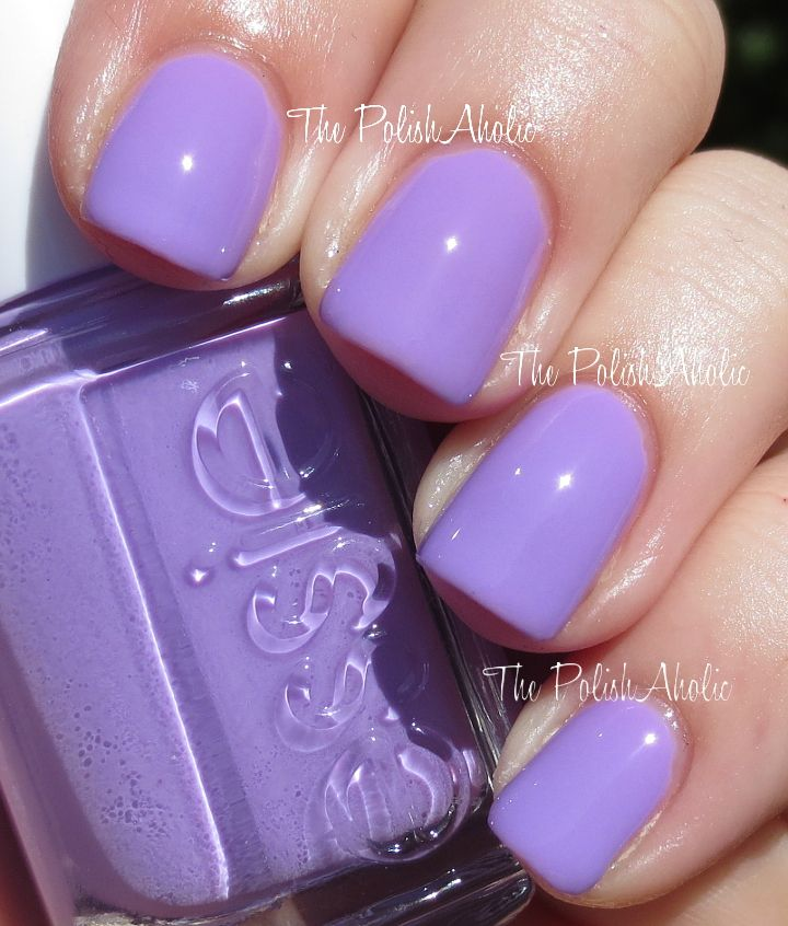 Essie Sittin Pretty Nails In 2019 Essie Nail Colors Lavender Nail Polish Lavender Nails