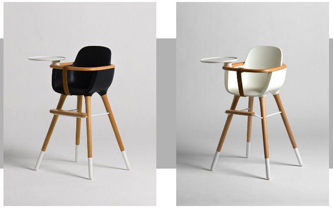 Ovo high chair for the super stylish baby