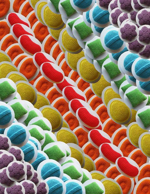 candy crush saga crochet pattern book