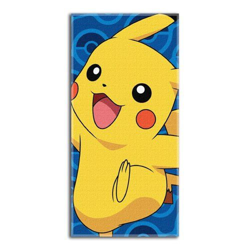 "Pokemon Day Off Beach Towel by The Northwest Company, 28 by 58″ #beach   Pokemon Day Off Beach Towel by The Northwest Company, 28 by 58"" Show off your favorite Pokémon character while at the beach or by the pool with this Pikachu beach towel by the Northwest company. Super colorful and vivid, these 28""x 58"" beach towels are quite the attention Grabber on those sunny summer days. Soft and cozy, these 100% cotton towels are the perfect summer accessory to dry off comfortably after taki.."