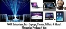 Are you looking for a laptop, desktop, or the latest 4G phones and accessories or home office products, WGF Enterprises, Inc. wants to serve you