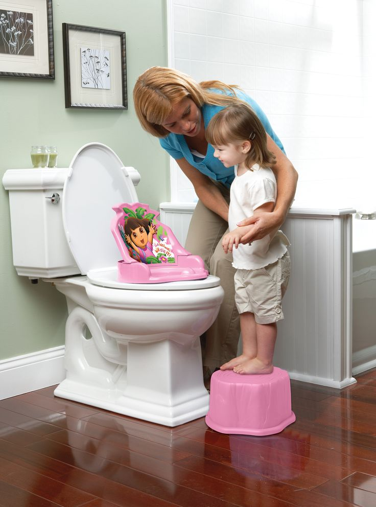 Simple potty training method to help you teach your daughter how to use the potty. Stress-free potty training.