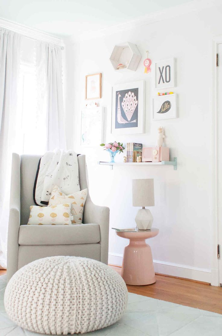 25 best ideas about white nursery on pinterest baby room nursery room and neutral childrens curtains - Baby Room For Girl