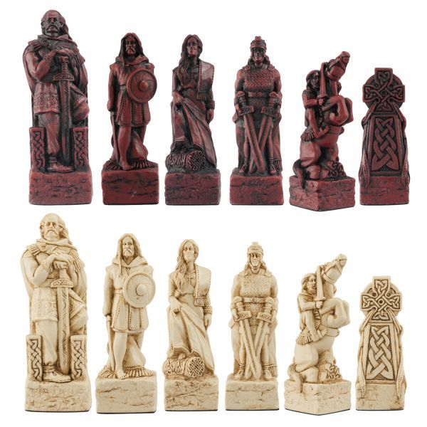 Celtic Chess Pieces Viking Chess Chess Board Chess