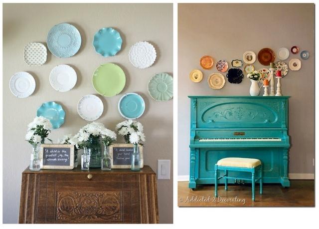 roxylove DIY idea Plate wall decorgotta start