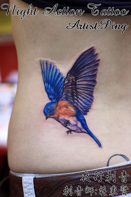 bluebird tattoo   Recent Photos The Commons Getty Collection Galleries World Map App ...