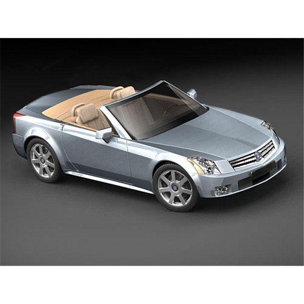 Cadillac XLR - 3D Model
