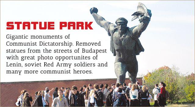 Memento Park Budapest | Communist statues and ghosts of communist dictatorship