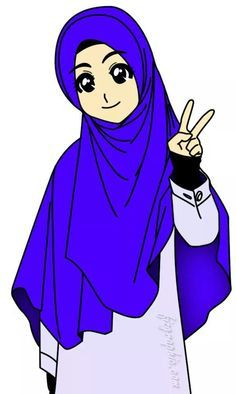 muslimah cartoon - Google Search