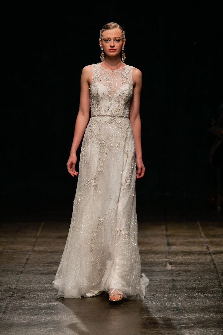 Lazaro wedding dresses 2013. (Ashlan Gorse of E tried this one on , very
