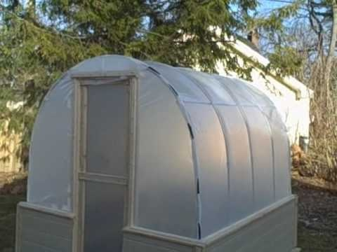 Cloudtops Greenhouse coverfilms on the Web. That's where I ordered the roll of greenhouse film from. I bought the GT - CLEAR 6 MIL -  Standard 4 year greenhouse film. They have several widths available and you can get what ever length you need. The Bender was from Johnnys Select Seeds and the also have clips available for the film which is much more convienient  than the water tubing I originally used. I think it cost under $400.00 I built one for our place that 16 foot long.