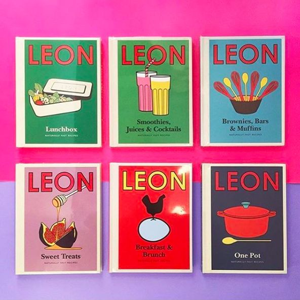 These Are Our Collection Of Little Leon Recipe Books