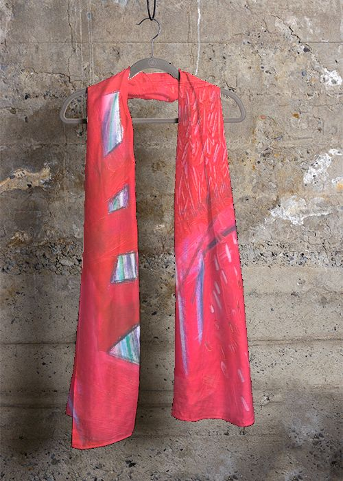 Cashmere Silk Scarf - candy inks by VIDA VIDA uR3TWICoj